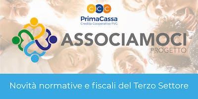 Novità normative e fiscali del Terzo Settore, Progetto ASSOCIAMOCI