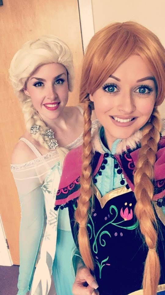 Princess for a Day Brunch with Elsa & Anna at