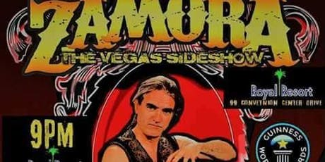 Zamora's Vegas Sideshow tickets