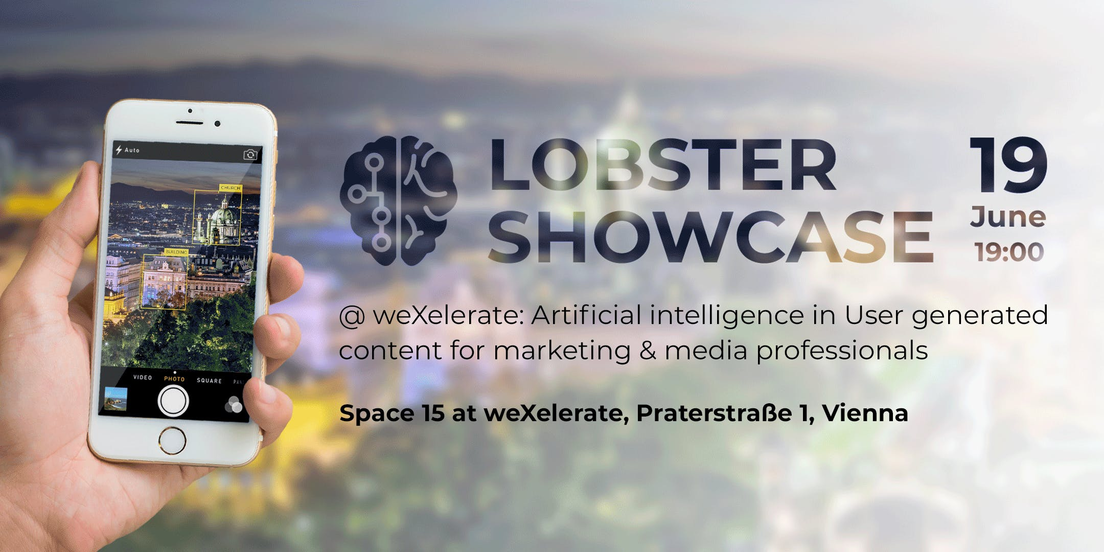 Lobster Showcase at WeXelerate: AI in UGC for