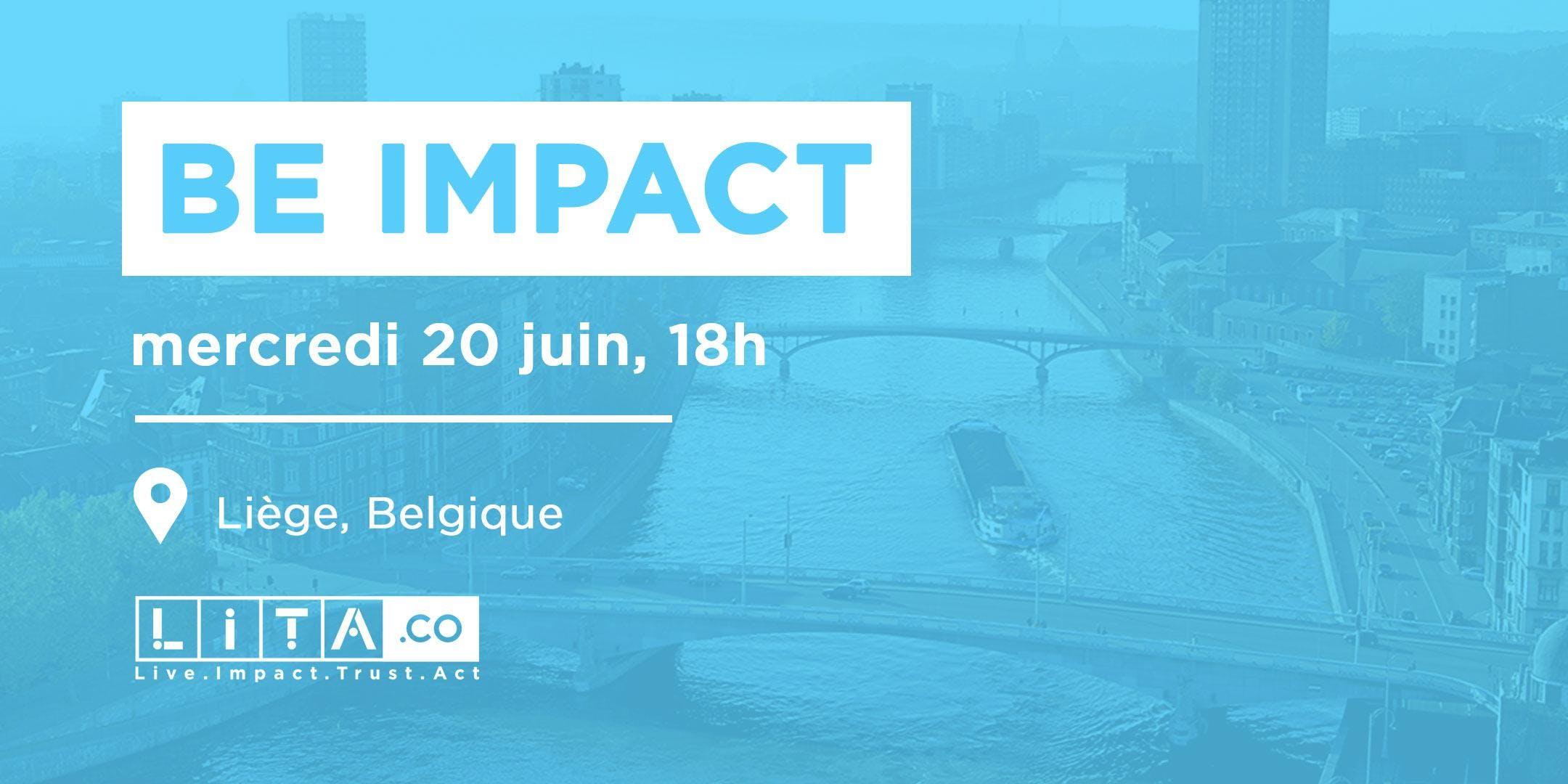 BE IMPACT - Soirée LITA.co : Impact Investing