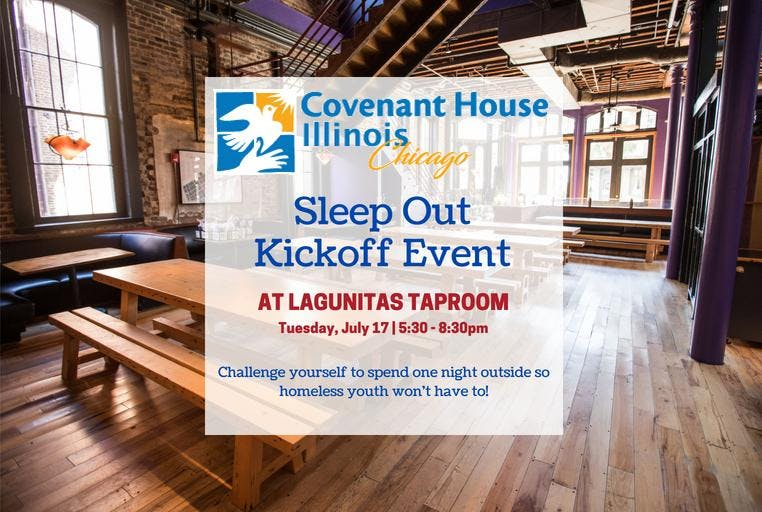 Covenant House Illinois Sleep Out Kickoff