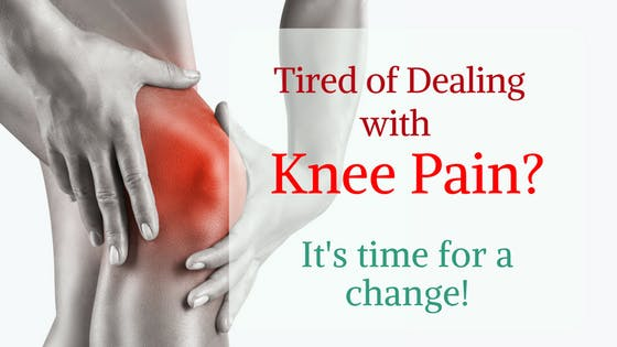 Tired of Dealing with Knee or or other Joint