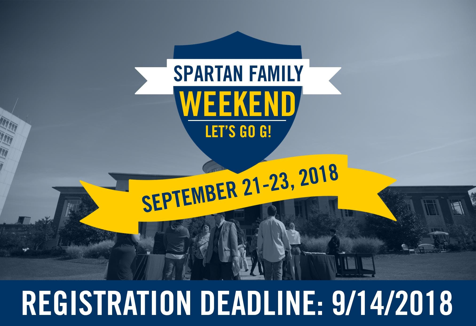 Spartan Family Weekend 2018