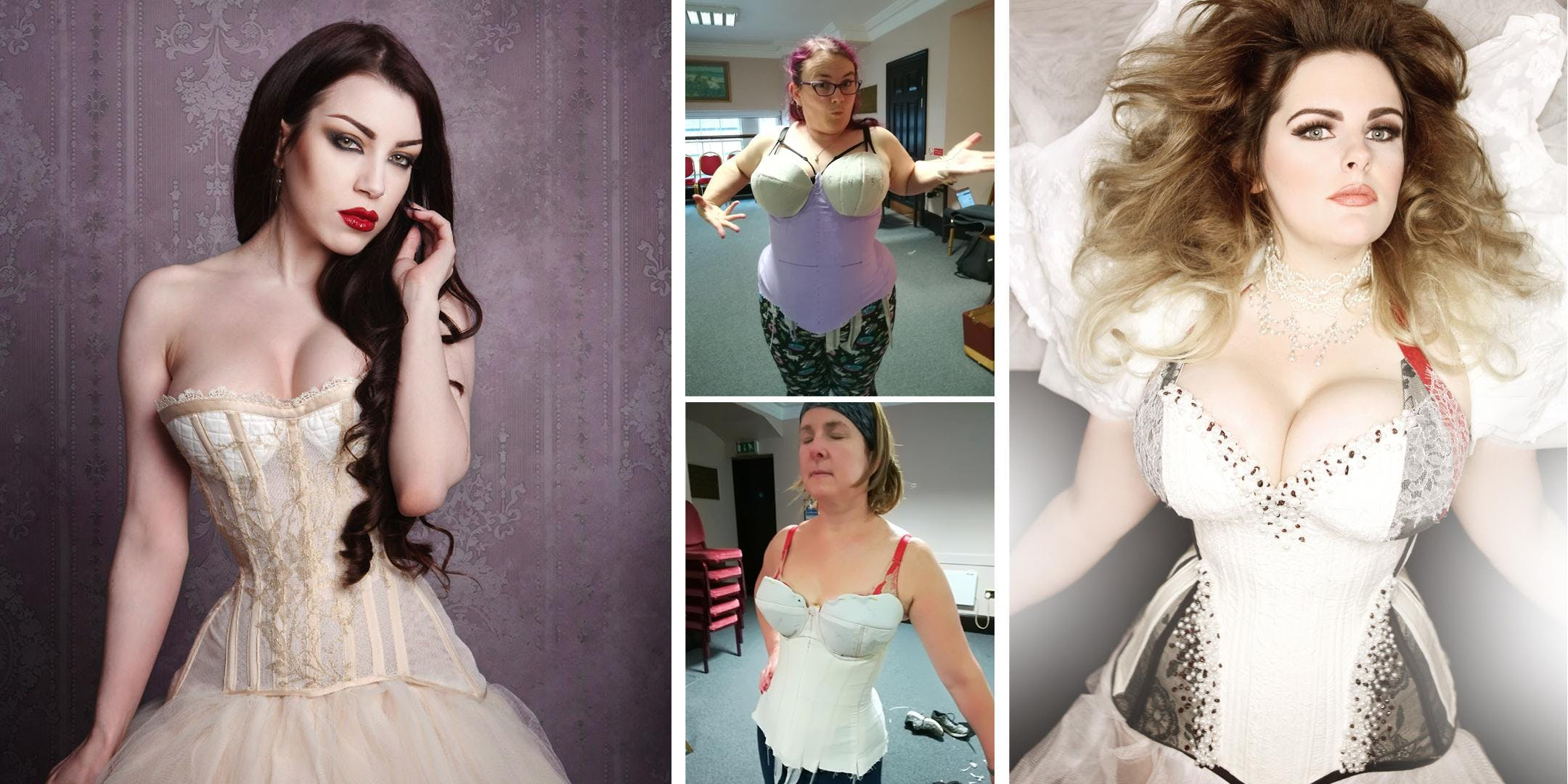 Learn How to Make a Cupped Corset