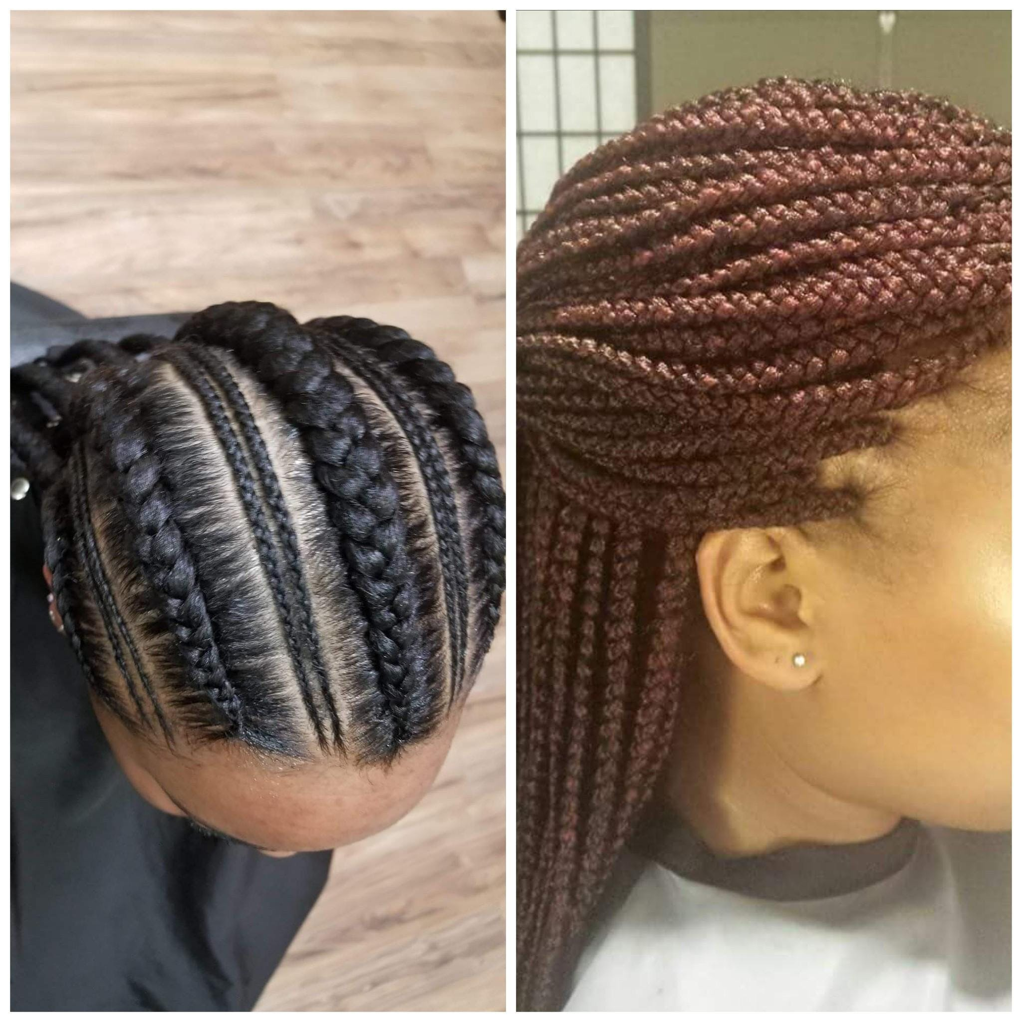 Magic touch way to braid