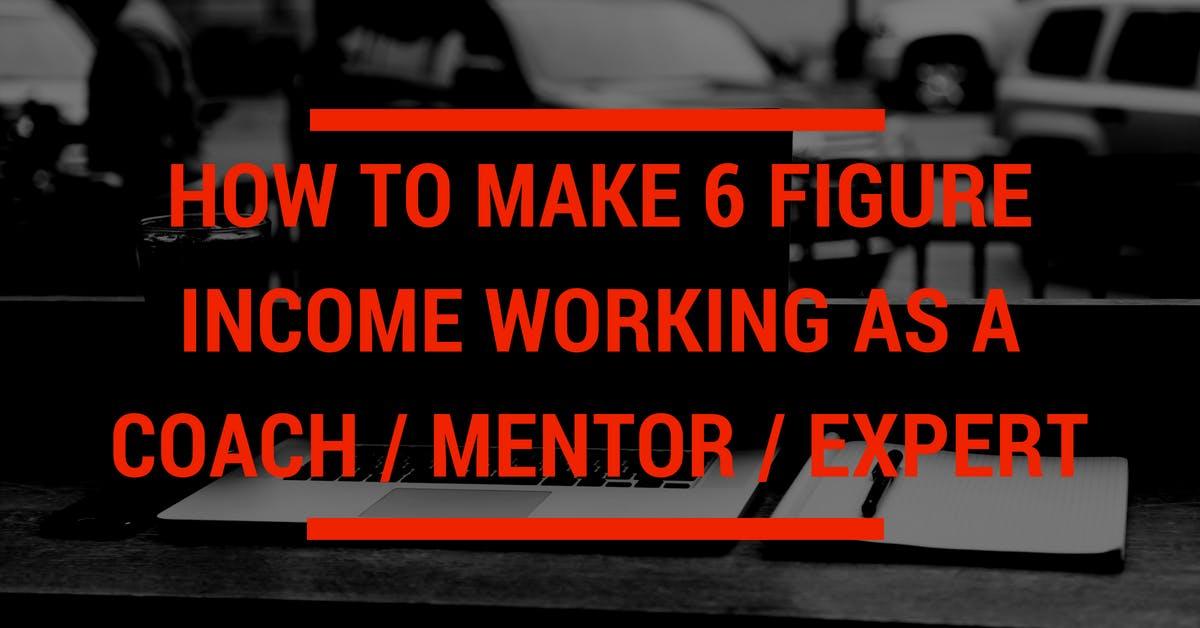 6 Figure Business Workshop for Coaches / Ment