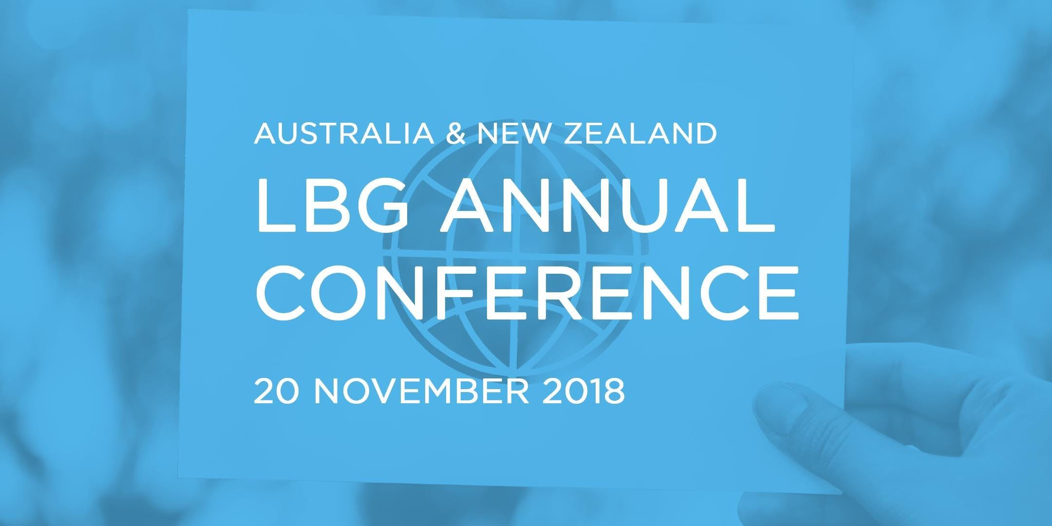 LBG Annual Conference: Going Global