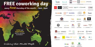 Global Free Try Coworking Day at Canvas Coworking Space