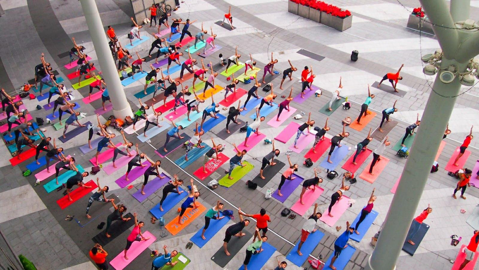 Celebrating International Yoga Day - Complimentary Outdoor Event with Platinum Yoga