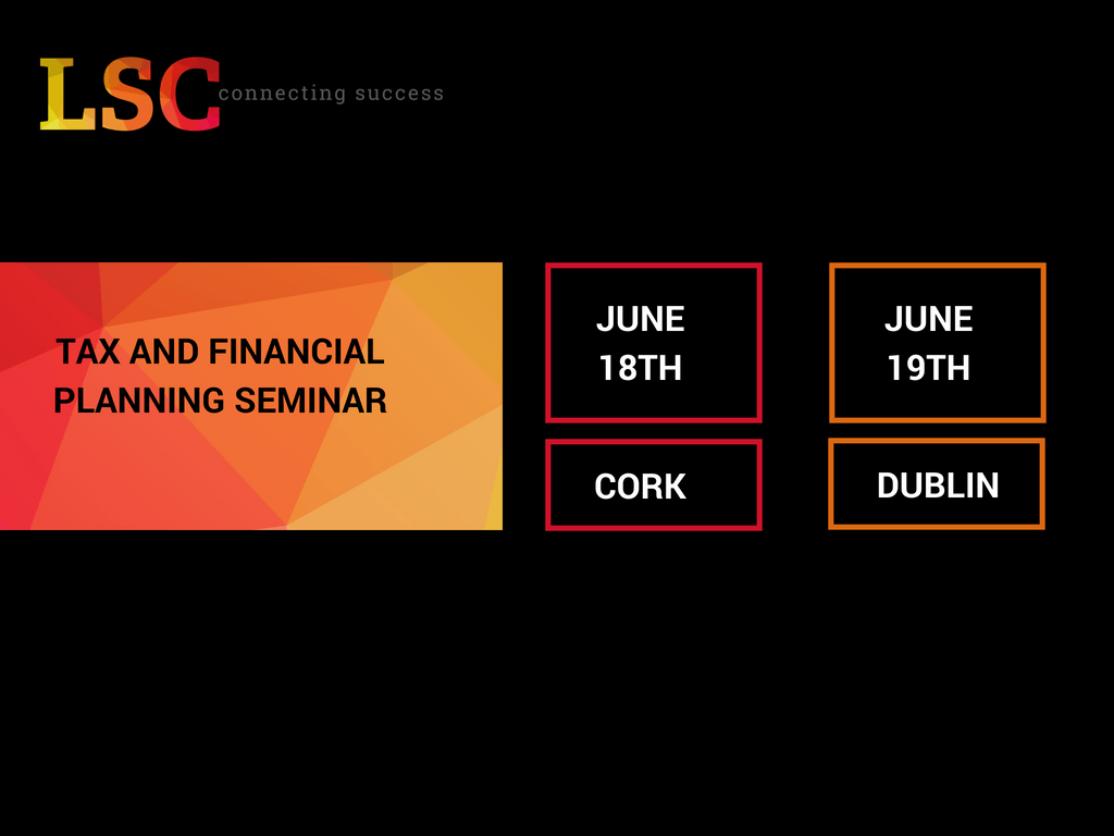 Cork - Contractor Financial Planning & Taxation Seminar
