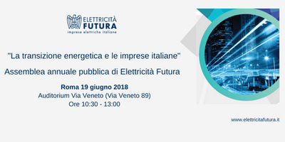 La transizione energetica e le imprese italiane - Assemblea annuale pubblica di Elettricità Futura