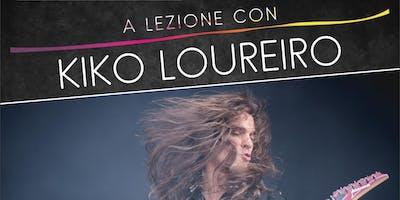 A lezione con Kiko Loureiro - International Summer Camp