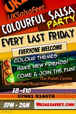 Wolverhmpton Colourful Salsa Party  tickets