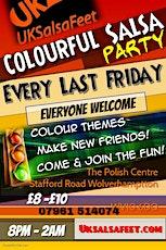 Wolverhmpton Colourful Salsa Party (THEME CHECK OR TARTAN) tickets