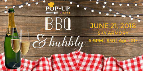 SKY Monthly Themed Popup Dining tickets