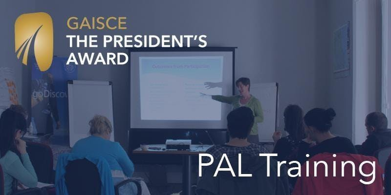 Gaisce PAL Training Workshop - Dublin 20/10/18