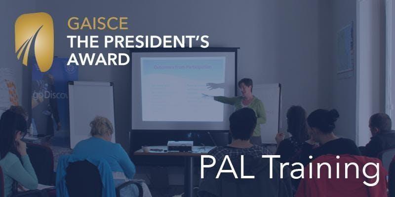 Gaisce PAL Training Workshop - Dublin 15/11/18
