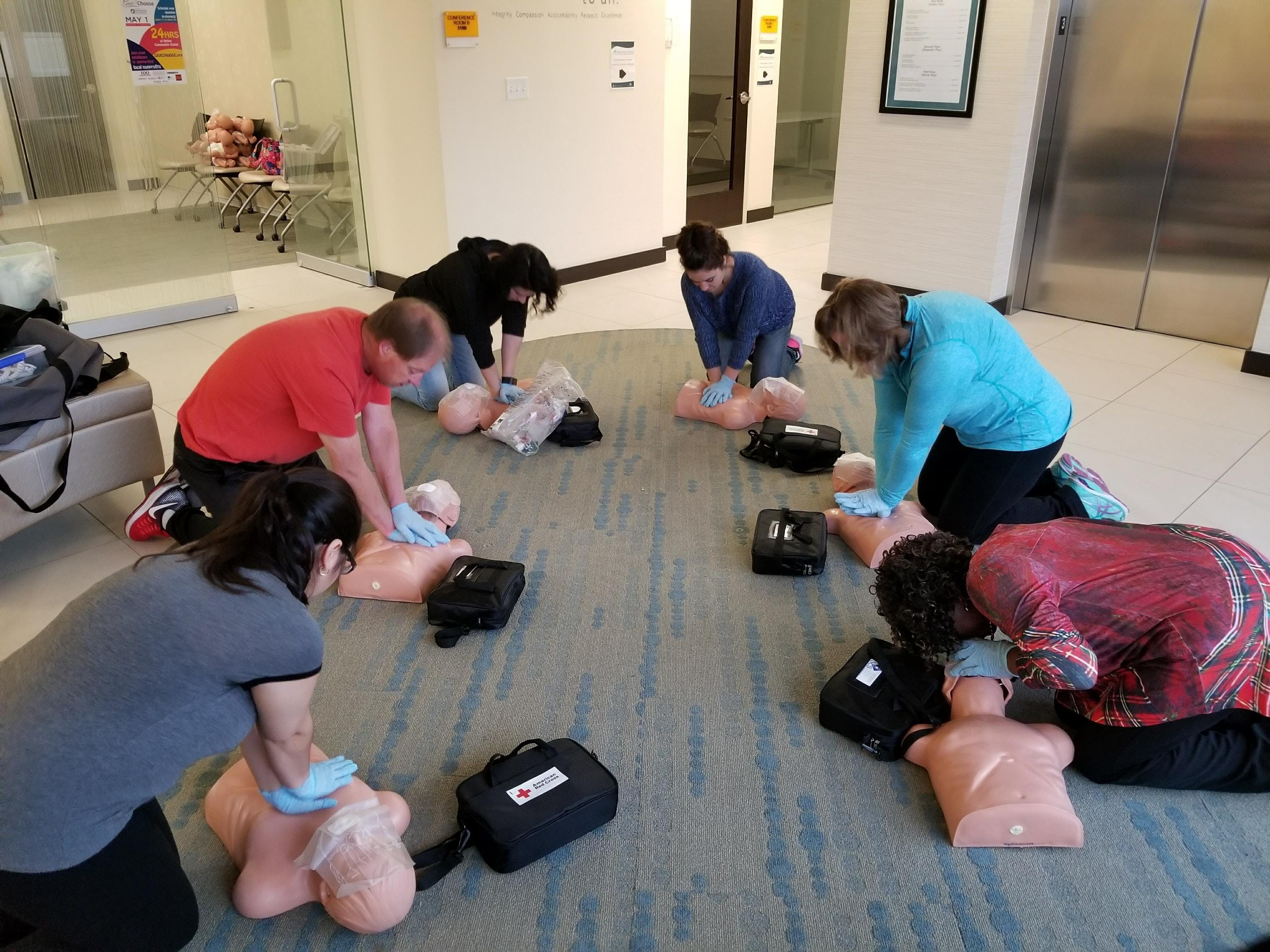CPR/AED & Basic First Aid Course (Week Day Co