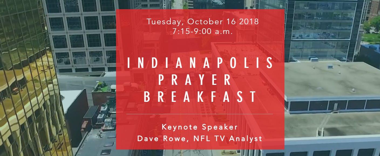 2018 Indianapolis Prayer Breakfast