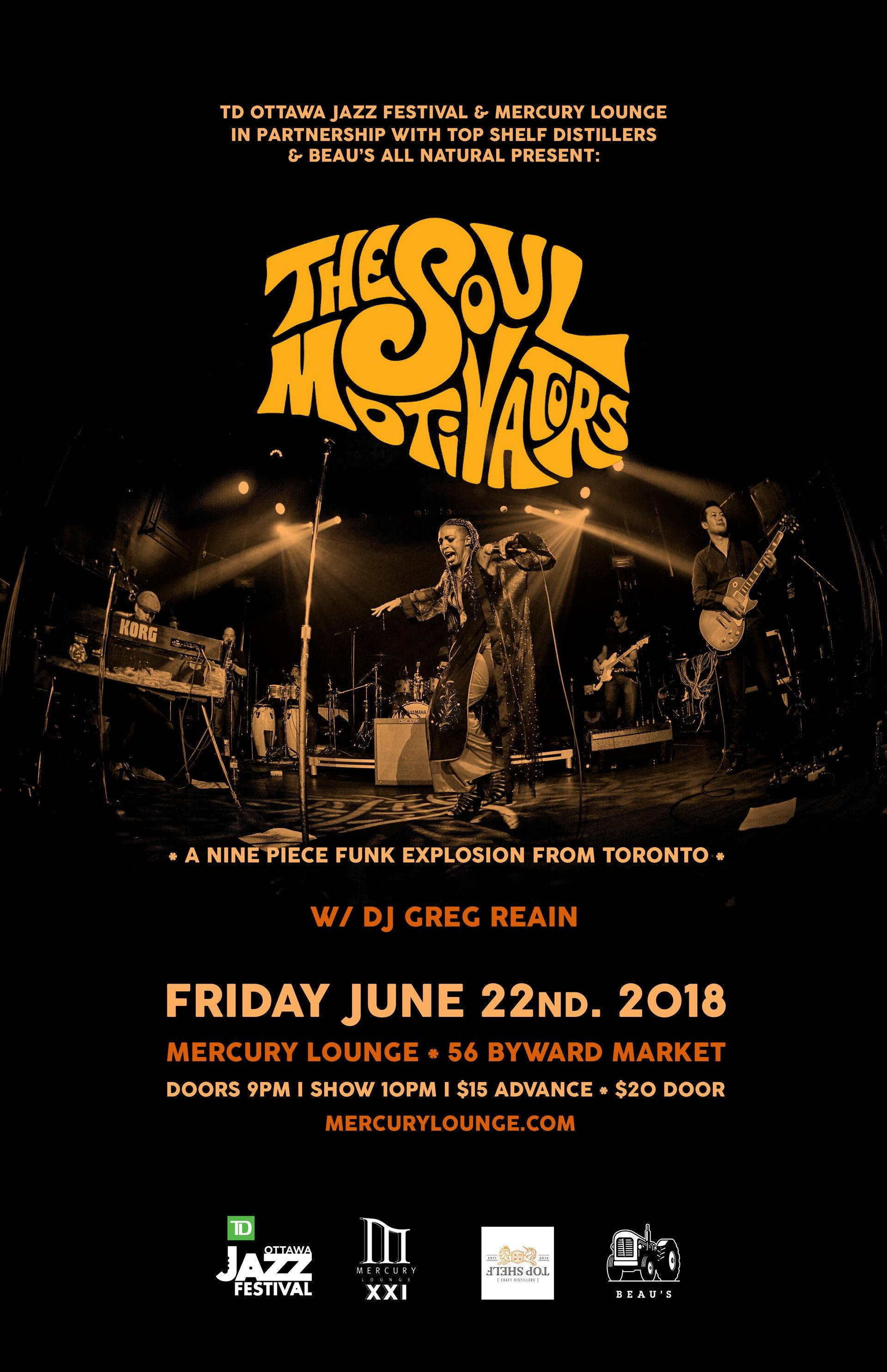 TD Ottawa Jazz Fest/Club Series: The Soul Mot