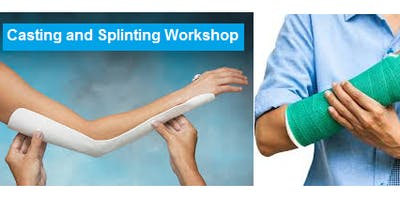 Casting and Splinting Workshop September 11, 2019 from 9 AM to 5 PM at Saving American Hearts, Inc. 6165 Lehman Dr. Colorado Springs, Colorado 80918.