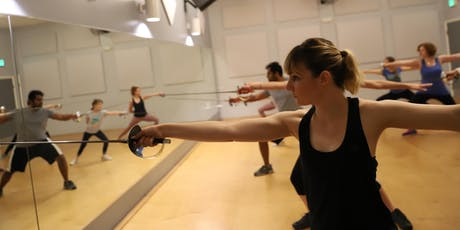 THE ART OF THE SWASHBUCKLER Theatrical Fencing Class (Adults/Teens 13+) tickets