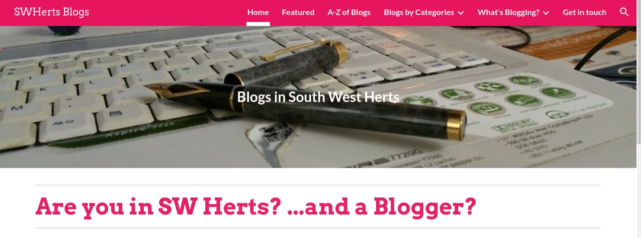 SWHertsBloggers: Blog Club