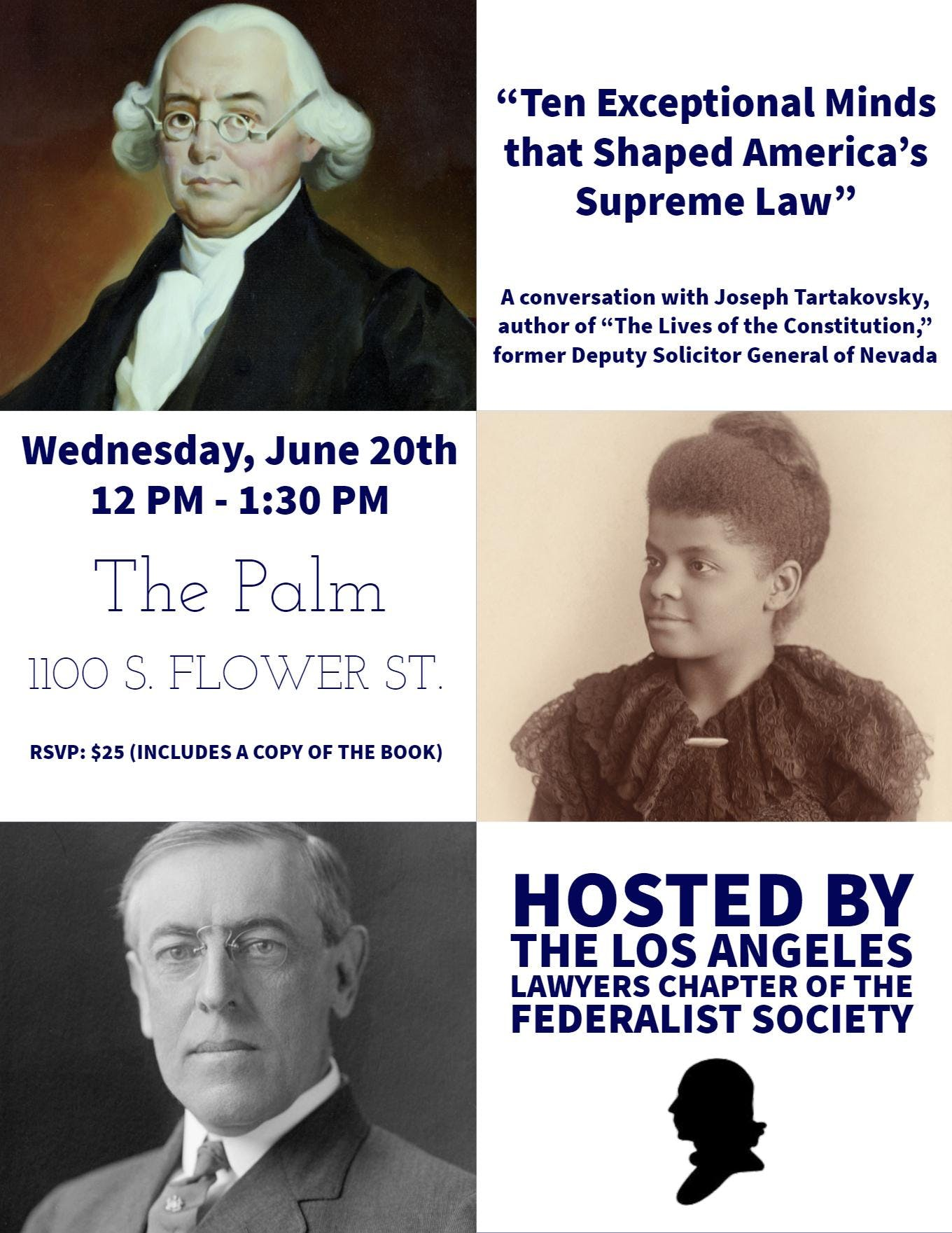 """Book Event: """"Lives of the Constitution"""" with"""