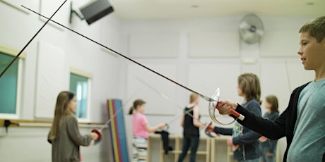 THE ART OF THE SWASHBUCKLER Theatrical Fencing Class (Children 8-12) tickets