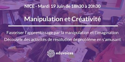 Atelier Eduvoices @Nice : Manipulation et imagination