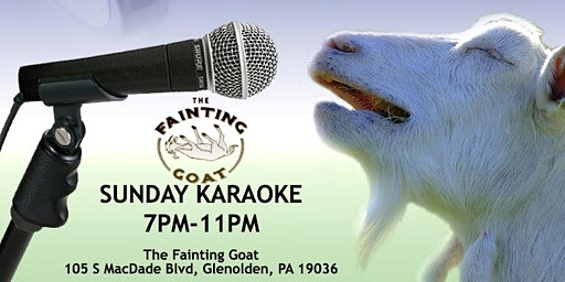 Sunday Karaoke at the Fainting Goat (Glenolden | Delaware County, PA)