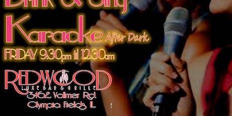 Karaoke Fridays at Redwood tickets
