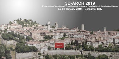 3D ARCH - 3D Virtual Reconstruction and Visualization of Complex Architectures