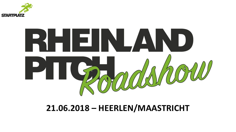Rheinland-Pitch Roadshow Heerlen/Maastricht
