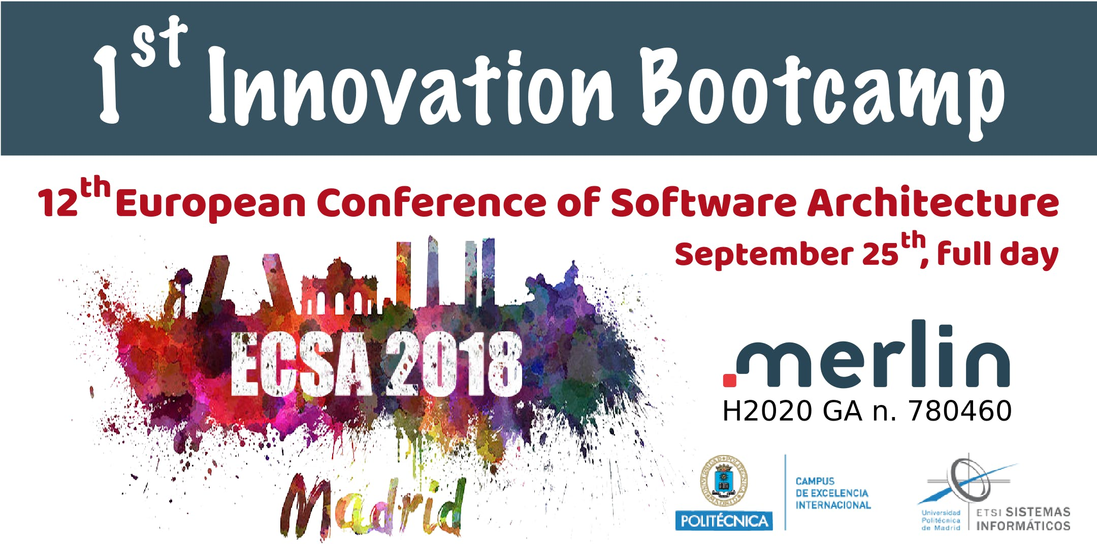 Free hands-on workshop on Innovation in ECSA'