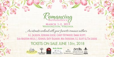 Romancing Rappahannock 2019: Signing/Dinner Tickets ONLY