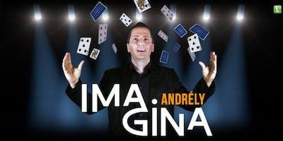 Desconto!Novo show de Ilusionismo com Andrély, campeão internacional de mágicas, no Teatro das Artes