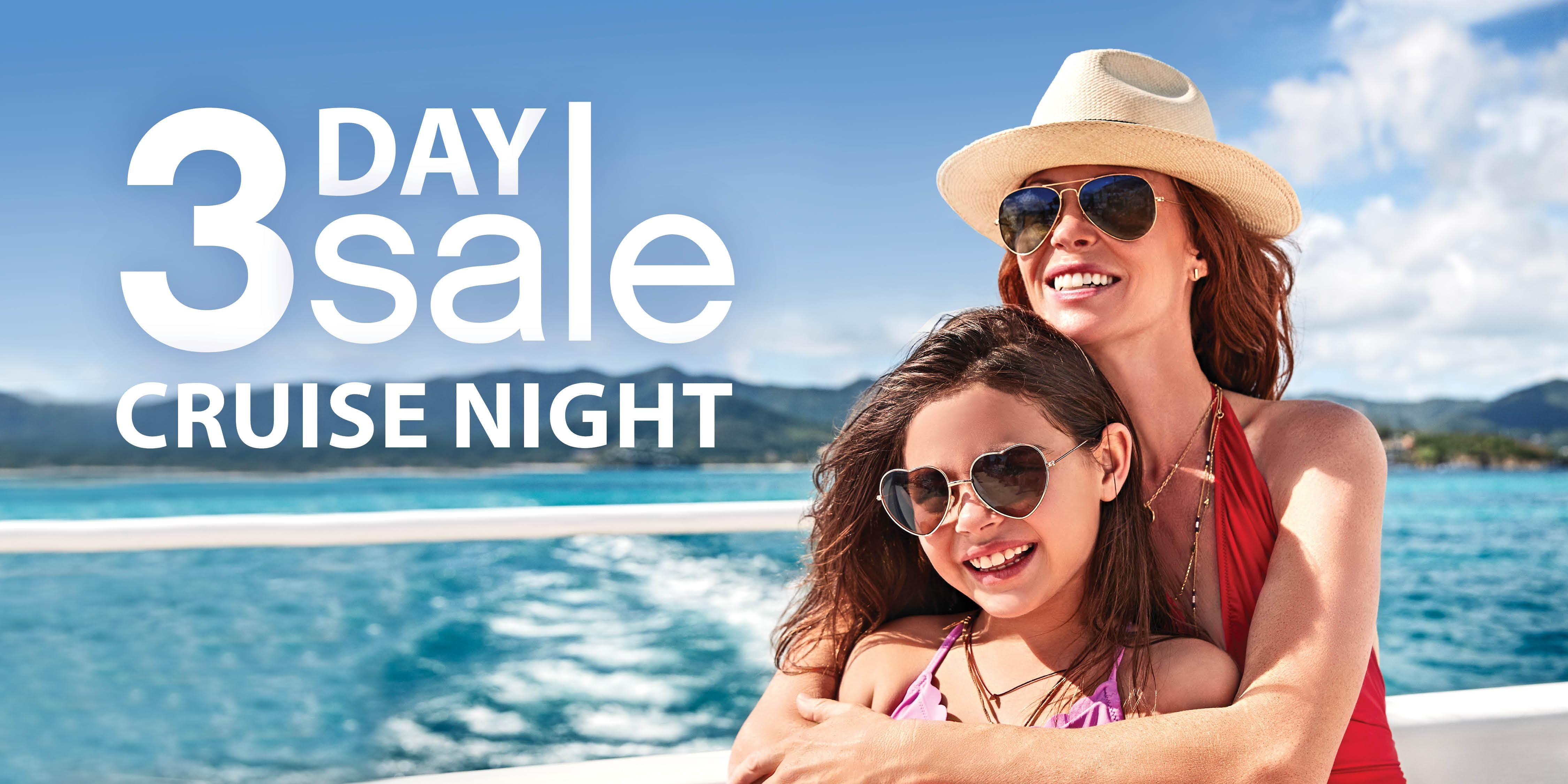 3 Day Sale Event featuring Princess Cruises -