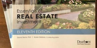 Broker Class-Essentials of Real Estate Investment