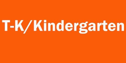 TK/Kindergarten Class with Sara Juul 06/17 (Registration opens: 06/11 at 10am)