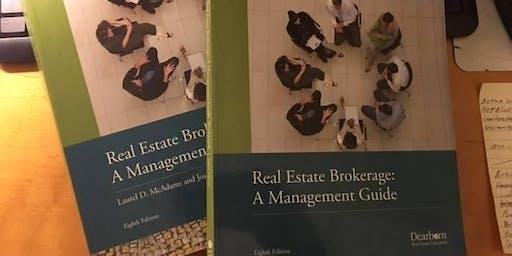 Broker Class-Real Estate Brokerage - Required Class