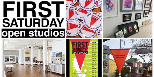 First Saturday Open Art Studios + The Art Supply Purge