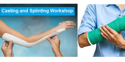 Casting and Splinting Workshop August 14, 2019 from 9 AM to 5 PM at Saving American Hearts, Inc. 6165 Lehman Dr. Colorado Springs, Colorado 80918.