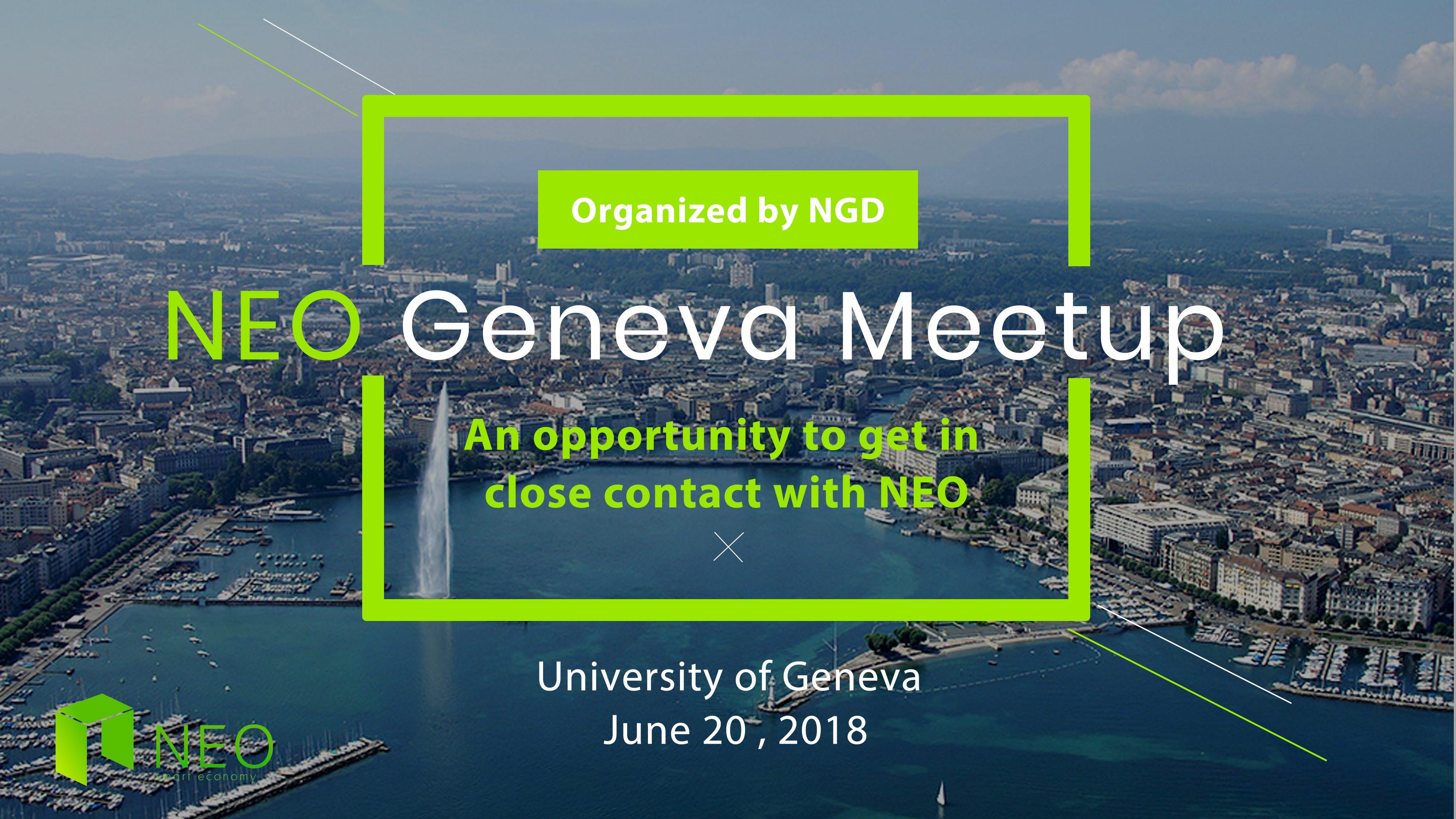 NEO Geneva Meetup