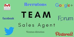 Recrutement Agents de ventes