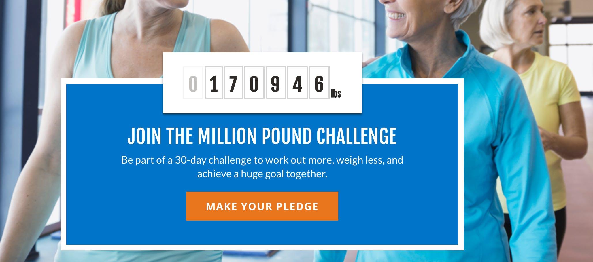 SilverSneakers Million Pound Challenge