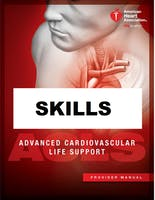AHA ACLS Skills Session October 11, 2019 from 3 PM to 5 PM at Saving American Hearts, Inc. 6165 Lehman Drive Suite 202 Colorado Springs, Colorado 80918.