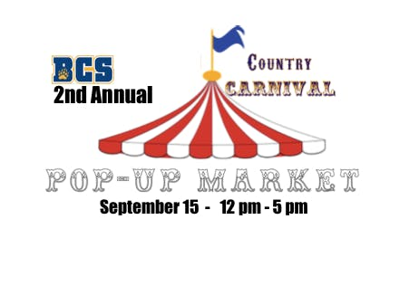 2nd Annual BCS Pop-Up Market
