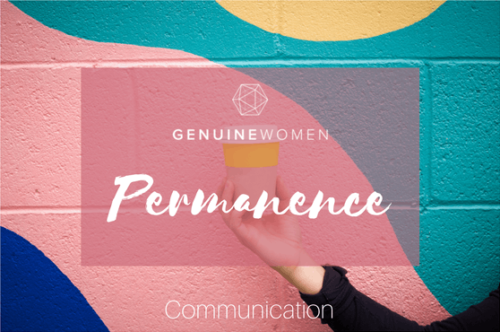Permanence - Communication/Branding (GENUINES ONLY!)